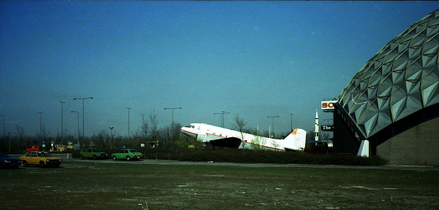 From the old box: picture of the aviation museum Aviodome at Schiphol airport