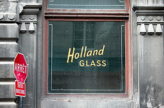 Montreal images: Holland glass