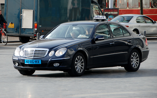 2007 Mercedes-Benz E 220 CDI on taxi duty