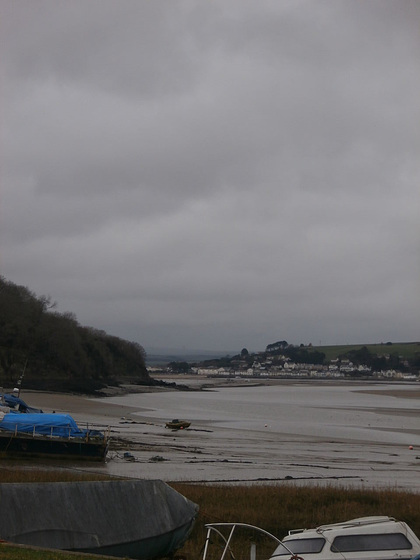 Looking down river towards Instow and Appledore