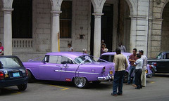 Cuban Car #5 (Wedding)