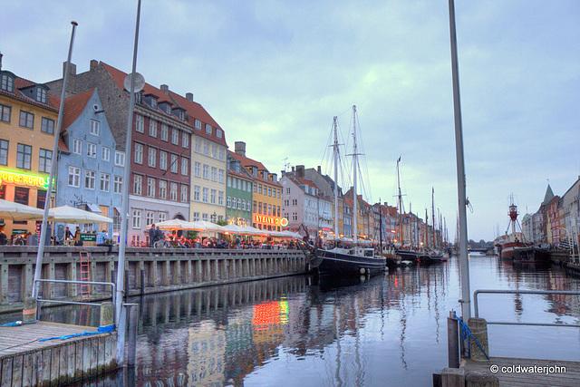 Street restaurants' scene, Copenhagen