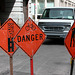 Montreal images: danger signs