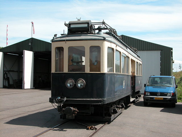 Steam Festival in Simpelveld (Limburg): Old tram also served in The Hague