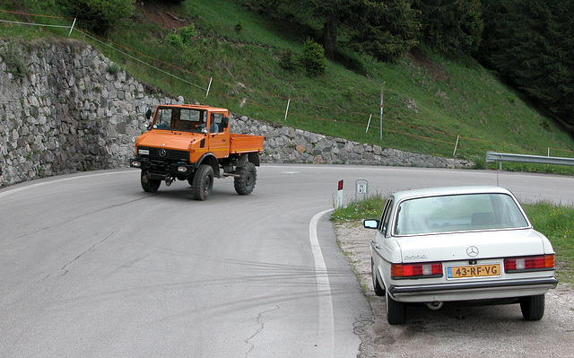 Holiday day 4: Unimog and Mercedes-Benz 200D