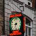 Bar Italia clock