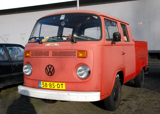 Rare 1978 VW pick up with double cab