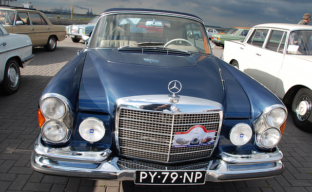 Autumn Mercedes Meeting – S-class: 1967 Mercedes-Benz 280 SE 3.5