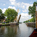 A trip with the steam tug Adelaar: The bridge at Nigtevecht