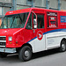 Canadian images: Canadian Post vehicle in Montreal
