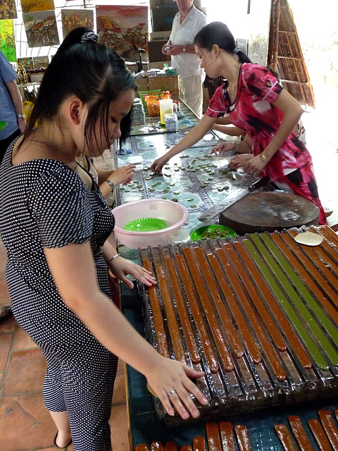 Making Rice Candy