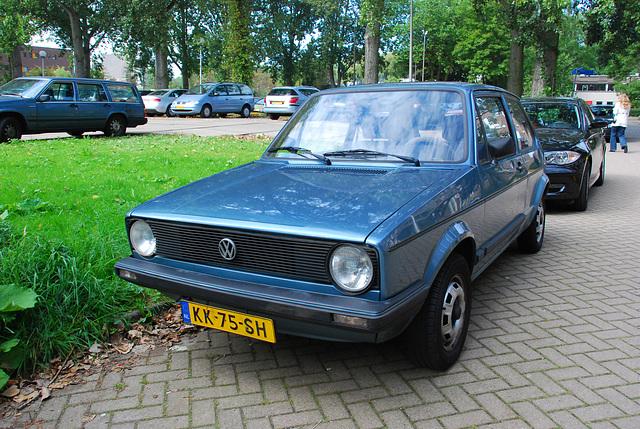 Some car spots: 1983 Volkswagen Golf C