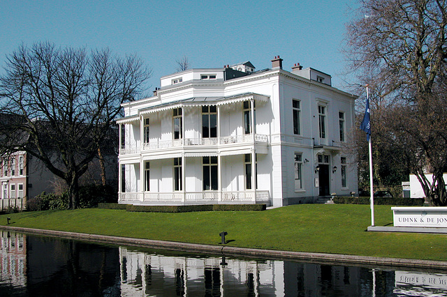 House on the Mauritskade in The Hague