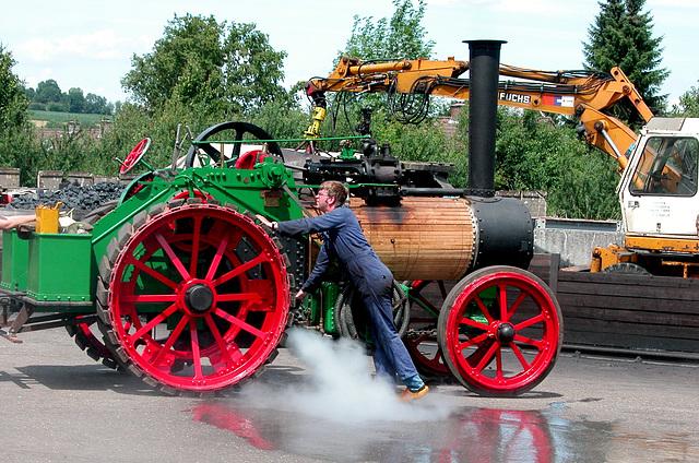 Steam festival in Simpelveld (Limburg): Letting off steam