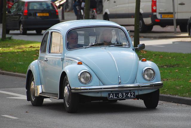 1970 Volkswagen Beetle on the move