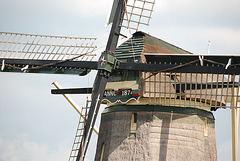 A trip with the steam tug Adelaar: windmill