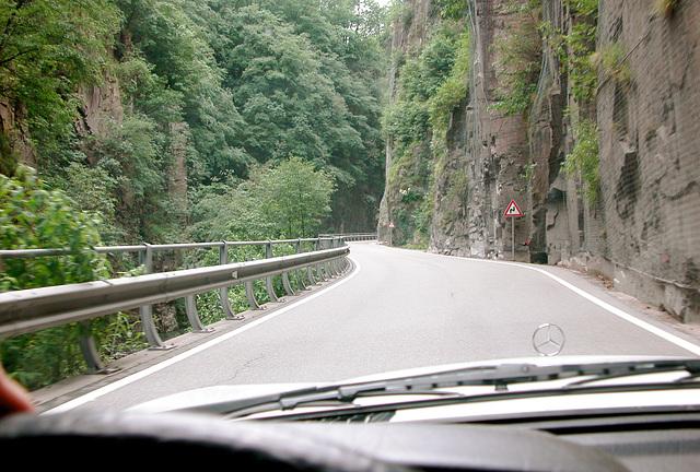 Holiday day 3: Canyon outside Bozen (Bolzano)