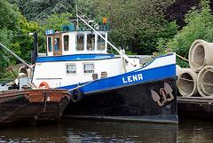 A trip with the steam tug Adelaar: the Lena