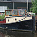 A trip with the steam tug Adelaar: old tug along the Vecht