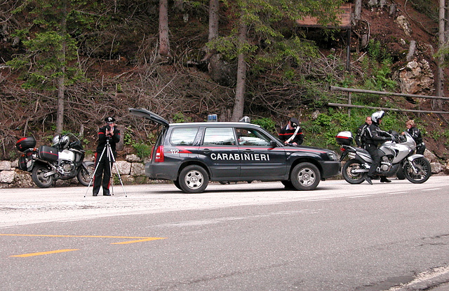 Holiday day 3: Police checking speed