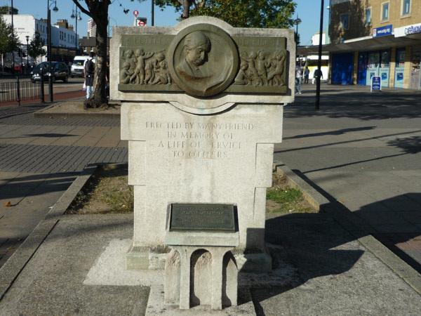 Edith  Kerrison monument