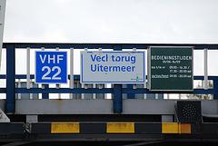 A trip with the steam tug Adelaar: The Vecl torug (Vechtbrug)