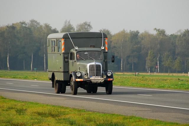 Old Mercedes-Benz truck