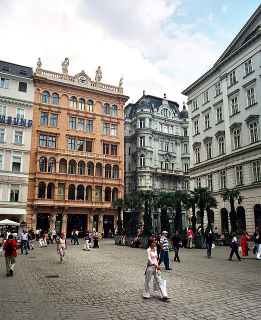 Old shots from Vienna: Graben
