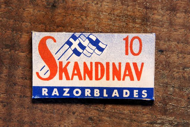 Razor blades: Scandinav