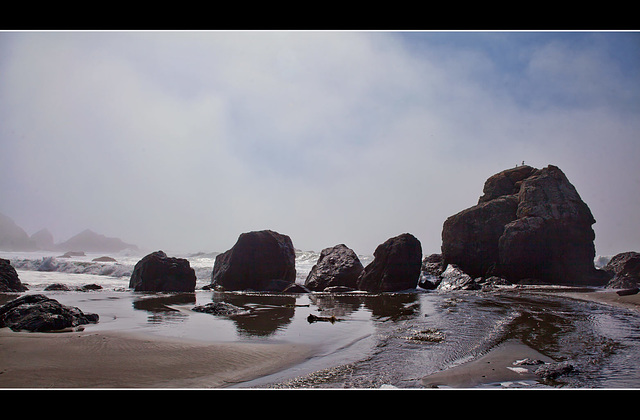 Beach Boulders at Samuel H. Boardman State Park, Oregon