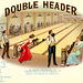 Double Header Bowling Alley Cigar Label, 1911