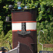 A trip with the steam tug Adelaar: The funnel of the Dickie with Kromhout badge