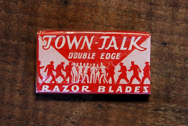 Razor blades: Town-Talk