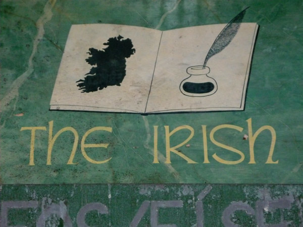 Where are the Irish in London?