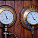 A trip with steam tug Adelaar: Steam gauges of the Adelaar