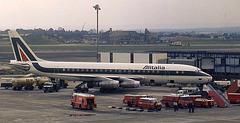 DC-8-43 I-DIWO (Alitalia)