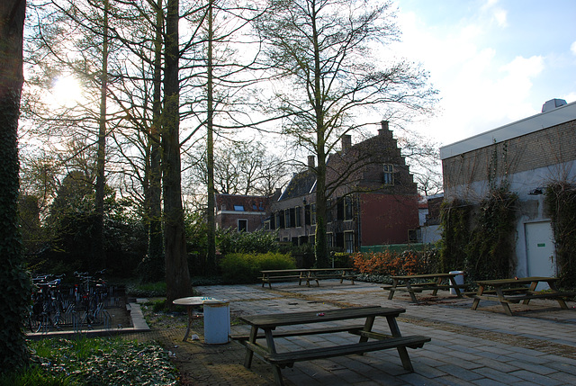 One of the oldest buildings of Leiden University
