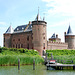 A trip with the steam tug Adelaar: Muiderslot (Castle Muiden)