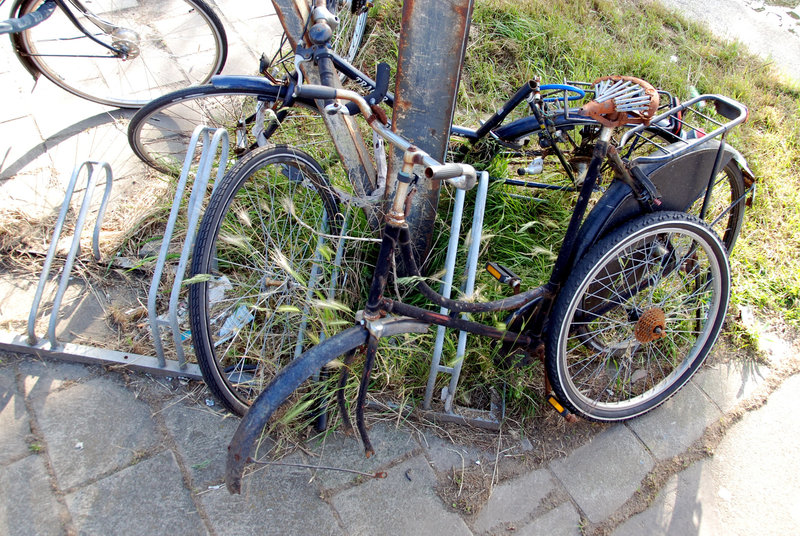 Desintegrated bicycles
