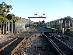 Ravenglass Station approach