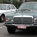 At a Mercedes-Benz meet-'n-drive