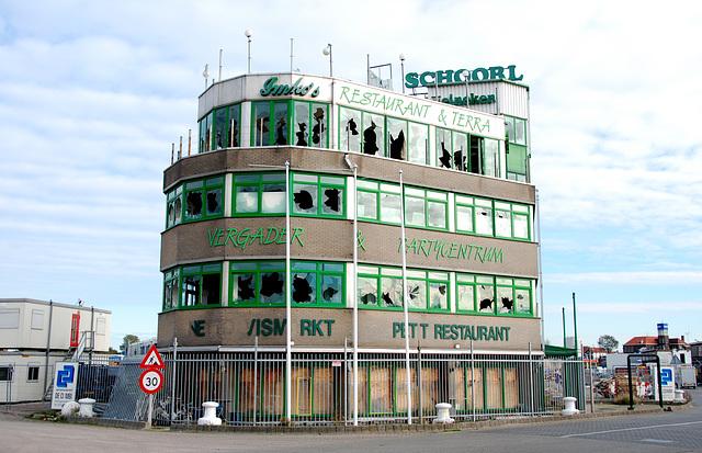 Former fishmonger and fish restaurant Schoorl in IJmuiden