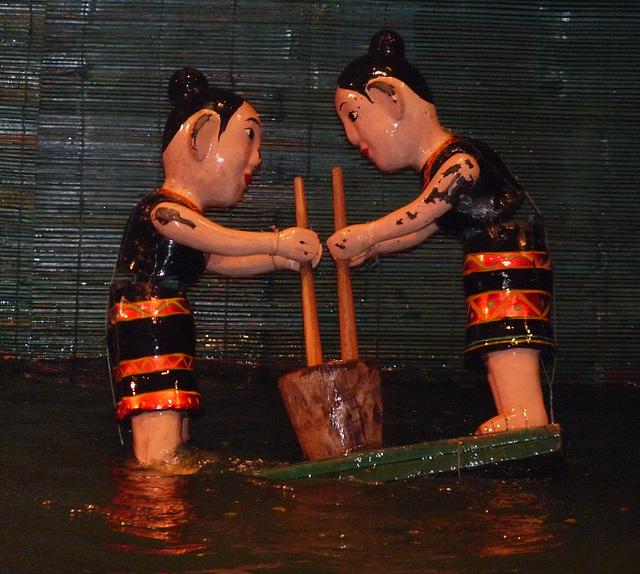 Water Puppet Show #2