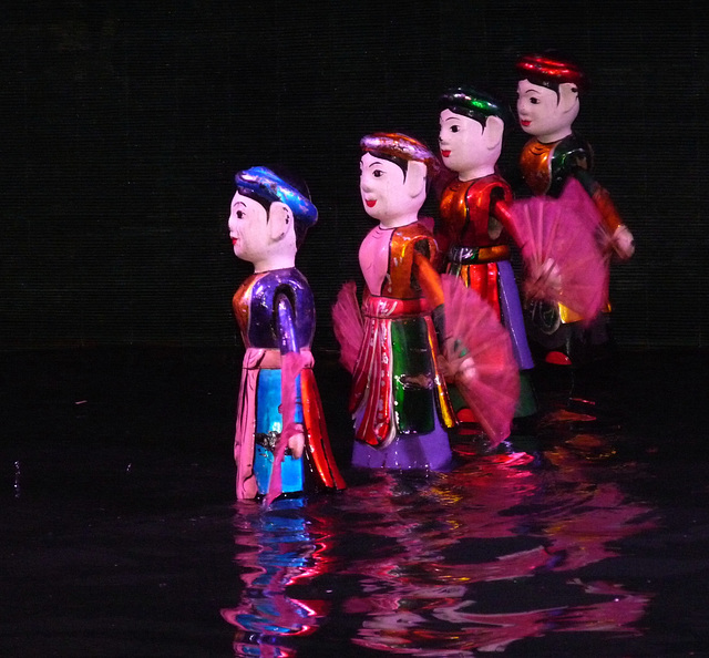 Water Puppet Show #1