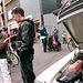 Oldtimer day in Emmen: Mercedes /8