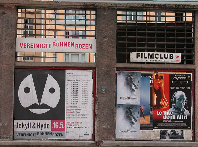 Holiday day 3: Film Club in Bozen (Bolzano)