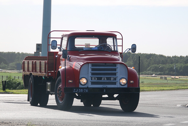 A weekend in the Eifel (Germany): 1968 Daf truck