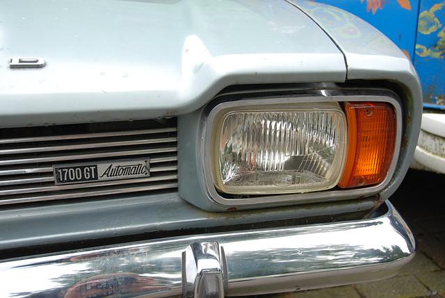 A weekend in the Eifel (Germany): Ford Capri 1700 Automatic