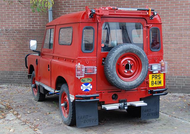 Scottish Land Rover in Leiden...