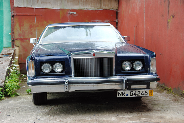 A weekend in the Eifel (Germany): Lincoln Continental